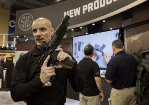 Educational Gun Show Display